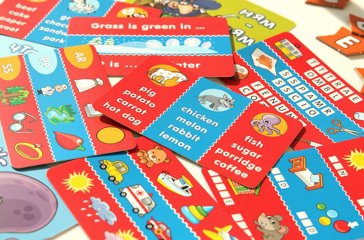 Настольная игра Инглиш-финглиш: карточки