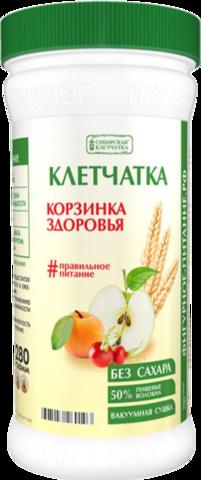 Клетчатка СИБИРСКАЯ КЛЕТЧАТКА Корзинка здоровья без сахара, 280 г