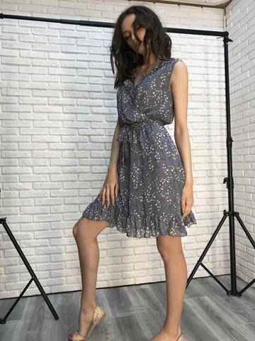 Платье шифон без рукавов недорого