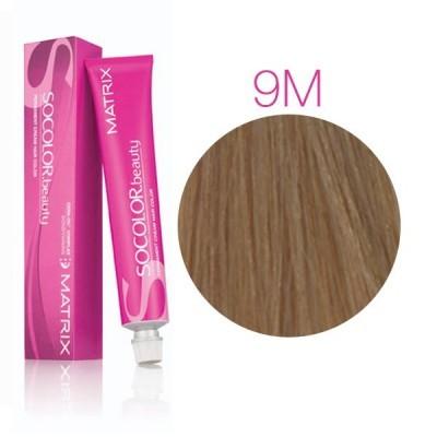 Matrix SOCOLOR.beauty: Mocha 9M очень светлый блондин мокка, краска стойкая для волос (перманентная), 90мл