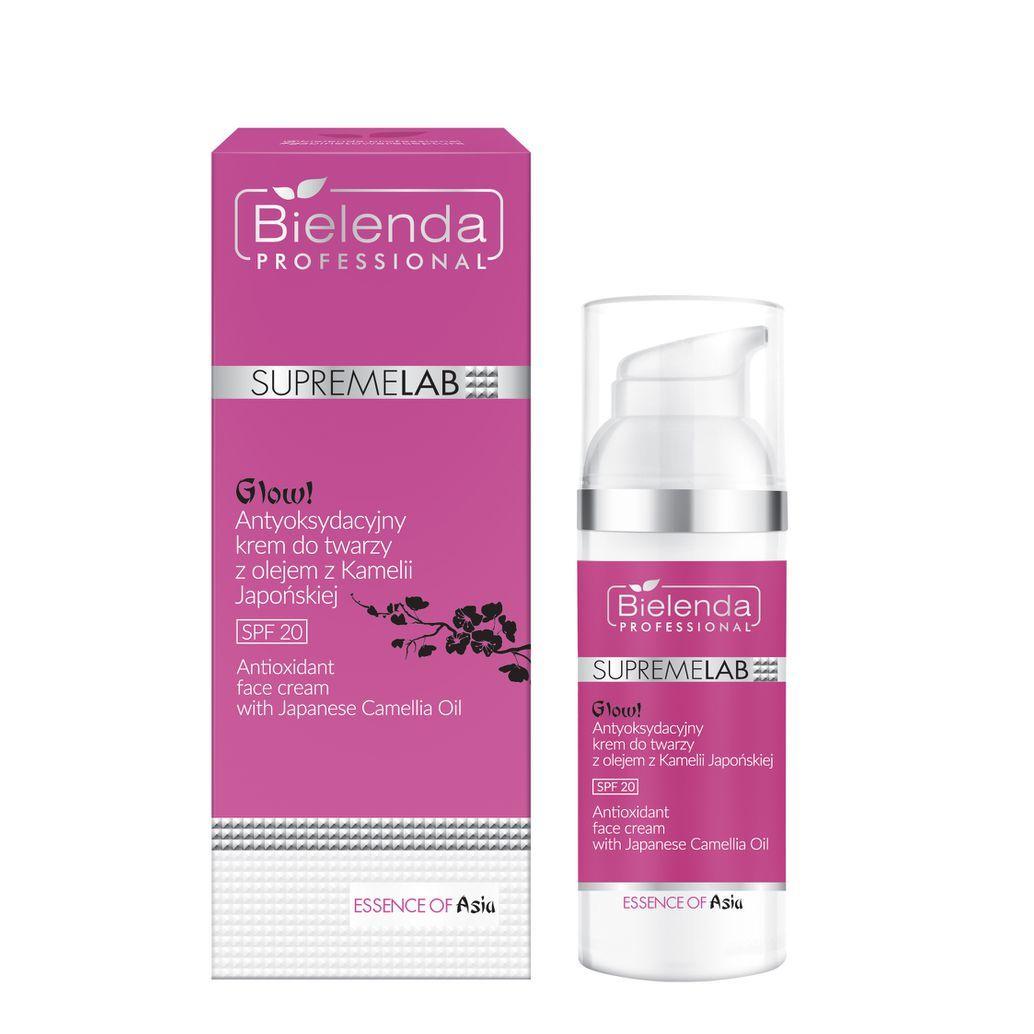 ESSENCE OF ASIA Антиоксидантный крем для лица с маслом японской камелии SPF 20, 50 мл