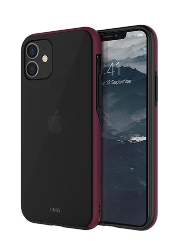 Чехол Uniq Vesto Hue для iPhone 11 | темно-красный противоударные борты