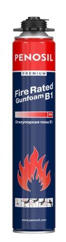 PENOSIL Premium Fire Rated Gunfoam B1 пена монт.проф. огнеупорная 750ml/12