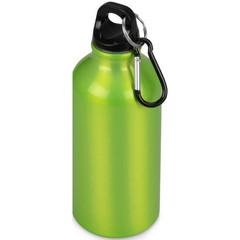 Бутылка для воды Oregon с карабином 400мл, зеленое яблоко арт.10000200