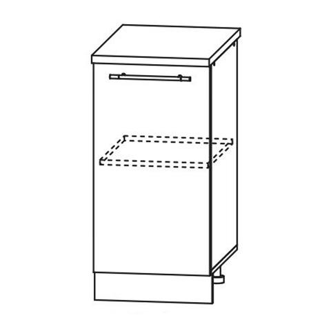 Кухня Вита шкаф нижний 850*400
