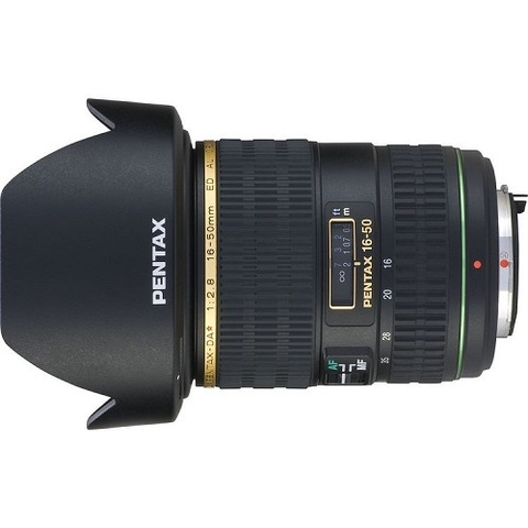 Объектив Pentax DA 16-50mm f/2.8 ED AL IF SDM Black для Pentax