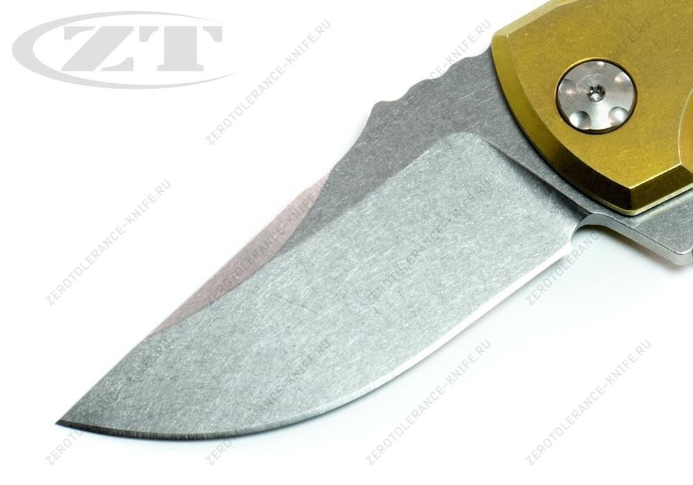 Нож Zero Tolerance 0900GLD Les George - фотография