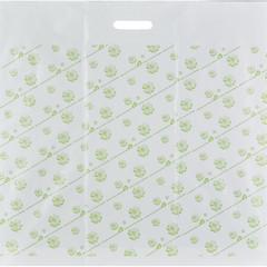 Пакет полиэтиленовый Знак Качества 60x63 см с рисунком и вырубной ручкой (20 штук в упаковке)