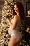 Майка для беременных и кормящих 03715 серый меланж/белый