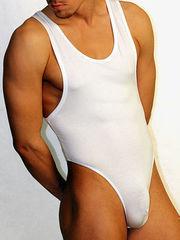 Мужское боди белое Doreanse Man Body 5003