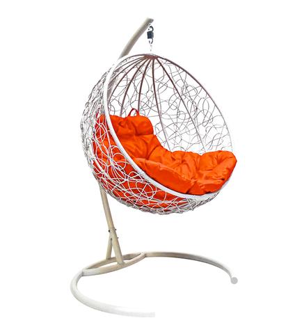 Кресло подвесное Milagro white/orange