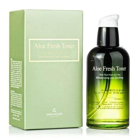 Успокаивающий тонер с экстрактом алое, 130мл, The Skin House Aloe Fresh