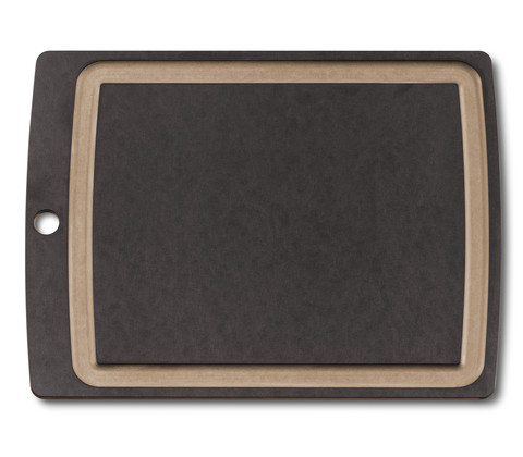 Разделочная доска Victorinox L (7.4114.3) размер 368x286x7 мм., цвет чёрный