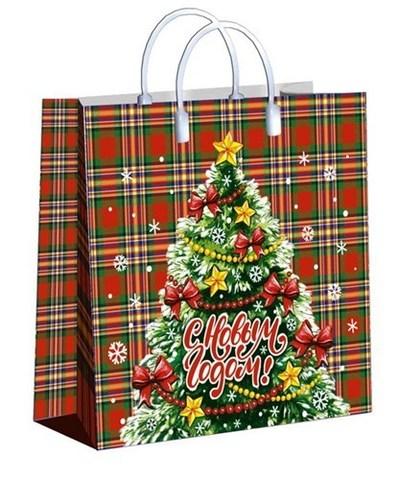 Подарочные пакеты 30x30+10 (150) из мягкого пластика