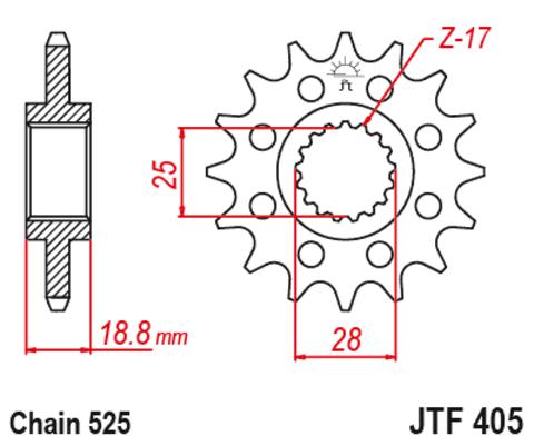 JTF405