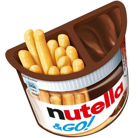 Шоколадная паста Nutella&GO 52г