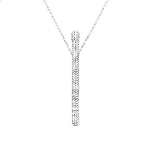 17422 - Колье из серебра с подвеской