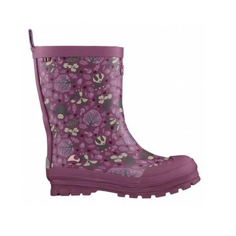 Резиновые сапоги Viking Jolly Woodland Dark Pink/Multi