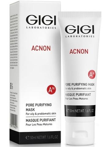 Маска для глубокого очищения пор Pore Purifying Mask, Acnon, GiGi, 50 мл