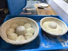 Корзинка для расстойки теста из ивы с отверстием, 30 см