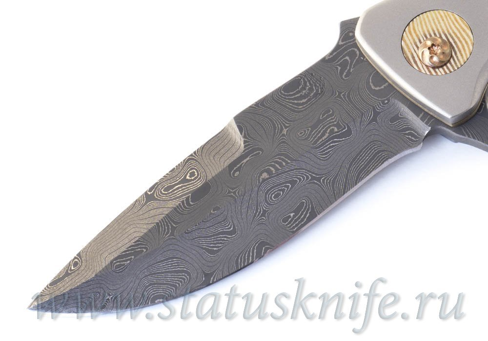 Нож KC Gray Mod Zero Full Custom - фотография