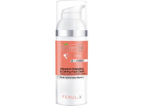 IS FERUL - X Антиоксидантный увлажняющий и успокаивающий крем