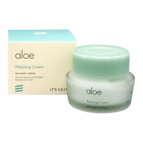 It`s Skin Aloe Relaxing Cream успокаивающий крем для лица