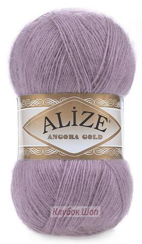 Angora GOLD Alize 312 Темно-лиловый - фото