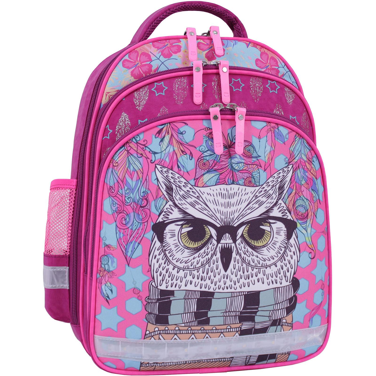 Рюкзак школьный Bagland Mouse 143 малиновый 514 (0051370) фото 1