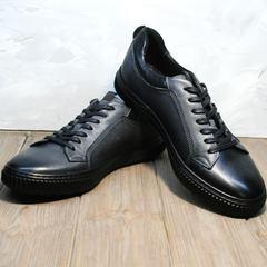 Мужская обувь на осень Komcero 9K9154-734 Black-Grey