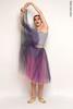 Репетиционная юбка-шопенка colour | фиолетовый