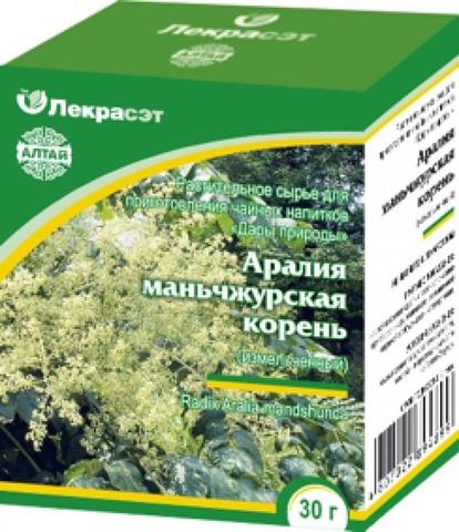 Аралия маньчжурская (корень) 30 г.