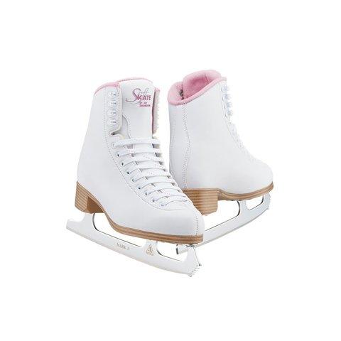 Коньки Jackson SoftSkate 380 (Pink) c лезвиями Mark I