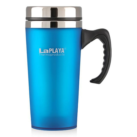 Термокружка LaPlaya TRM 2000 (0,4 литра), синяя