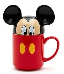 Дисней Кружка керамическая Микки Маус с крышкой