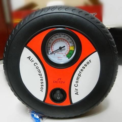Компрессор для автомобильных шин 260 PSI DC, 12v