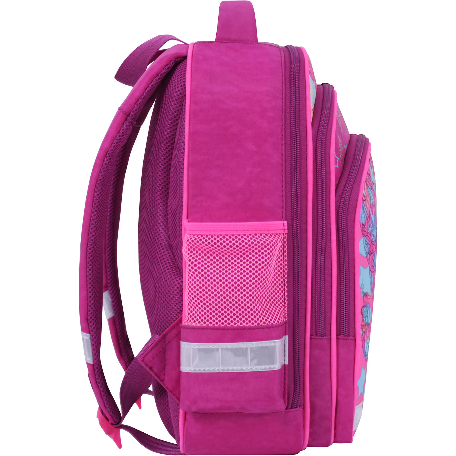 Рюкзак школьный Bagland Mouse 143 малиновый 514 (0051370) фото 2