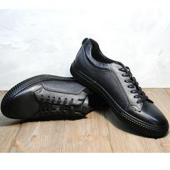 Мужская обувь весна осень Komcero 9K9154-734 Black-Grey