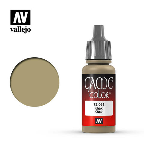 Game Color Khaki 17ml.
