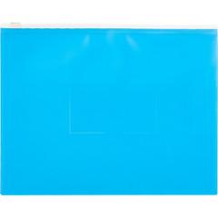 Папка на молнии А5 Attache Color , голубой