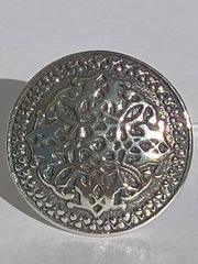 Орнамент (кольцо из серебра)