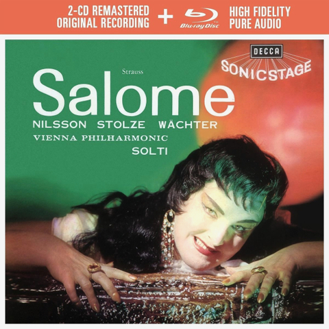 Birgit Nilsson, Vienna Philharmonic, Georg Solti / Strauss: Salome (2CD+Blu-ray Audio)