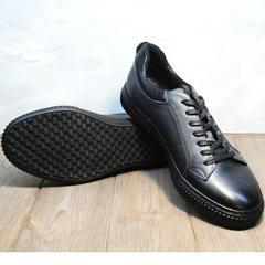 Мужские осенние кроссовки кеды Komcero 9K9154-734 Black-Grey