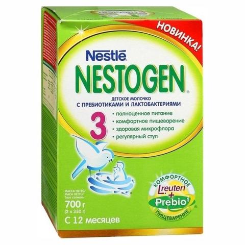 Смесь NESTOGEN 3 Пребиотики 2*350 гр Nestle ШВЕЙЦАРИЯ