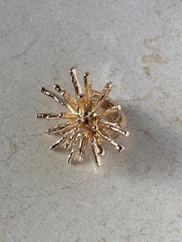 Кольцо Палазия, позолота
