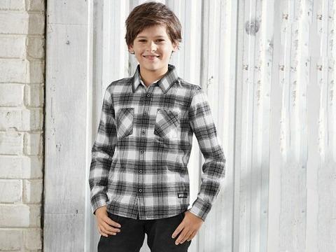 Рубашка для мальчика Pepperts фланель