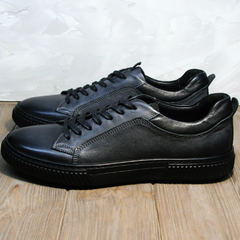 Мужские осенние кроссовки Komcero 9K9154-734 Black-Grey
