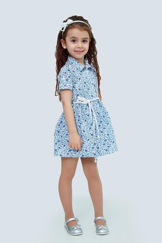 Платье детское + пояс (артикул 1Л2-1)