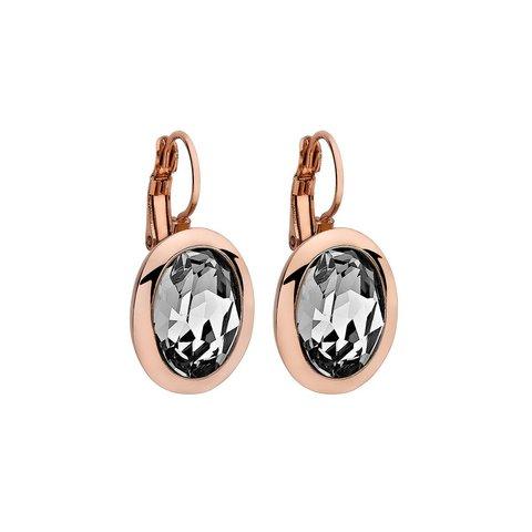 Серьги Tivola Crystal 303002 BW/RG