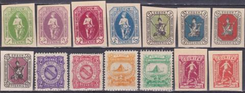 городская почта Германии **/*